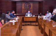 Diputadas y diputados reciben el informe previo de la auditoría que se está realizando al Issstezac