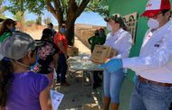 SE BENEFICIAN FAMILIAS DE CHALCHIHUITES CON APOYOS SOCIALES EMERGENTES