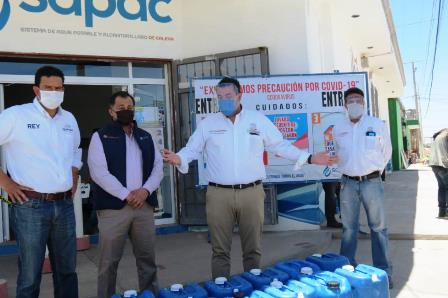 ENTREGARÁ GOBIERNO ESTATAL 125 TONELADAS DE QUÍMICO PARA CLORAR AGUA EN LOS MUNICIPIOS