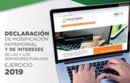 INICIA PERIODO DE DECLARACIONES PATRIMONIALES EN EL PODER EJECUTIVO DE ZACATECAS