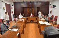 La comisión de Justicia de la LXIII Legislatura se reúne con el fiscal General y el magistrado presidente del Tribunal Superior de Justicia
