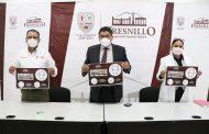 SAÚL MONREAL ANUNCIA EL USO OBLIGATORIO Y CORRECTO DEL CUBREBOCAS EN FRESNILLO