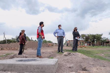 LE APUESTA SAÚL MONREAL AL DESARROLLO SOCIAL CON OBRAS EN TRES COMUNIDADES