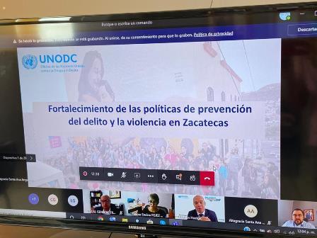 RECONOCE NACIONES UNIDAS A ZACATECAS COMO LÍDER NACIONAL EN CULTURA DE PAZ