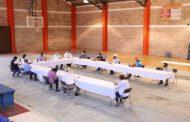 Reunión entre productores de Durazno, autoridades de SECAMPO y miembros del Consejo de Salud.