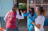 Entrega Gobierno de México recursos directos para mejoramiento de escuelas en La Luz, Guadalupe