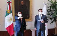 TOMA PROTESTA ALEJANDRO TELLO A NUEVO SECRETARIO DE SEGURIDAD PÚBLICA