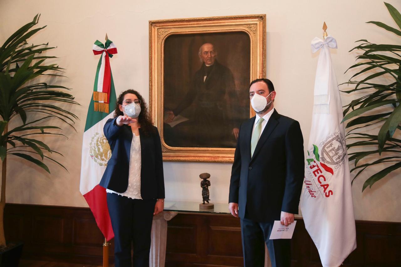 ALEJANDRO TELLO NOMBRA A GABRIELA RODRÍGUEZ NUEVA SECRETARIA DE LA FUNCIÓN PÚBLICA