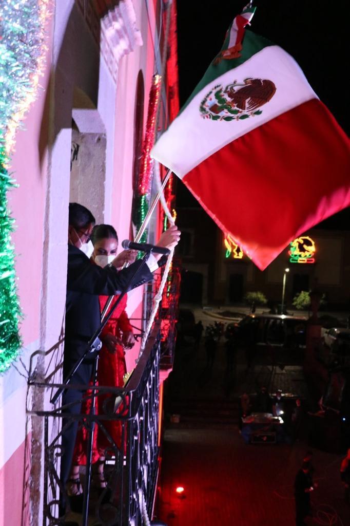 CELEBRA SAÚL MONREAL LA INDEPENDENCIA DE MÉXICO
