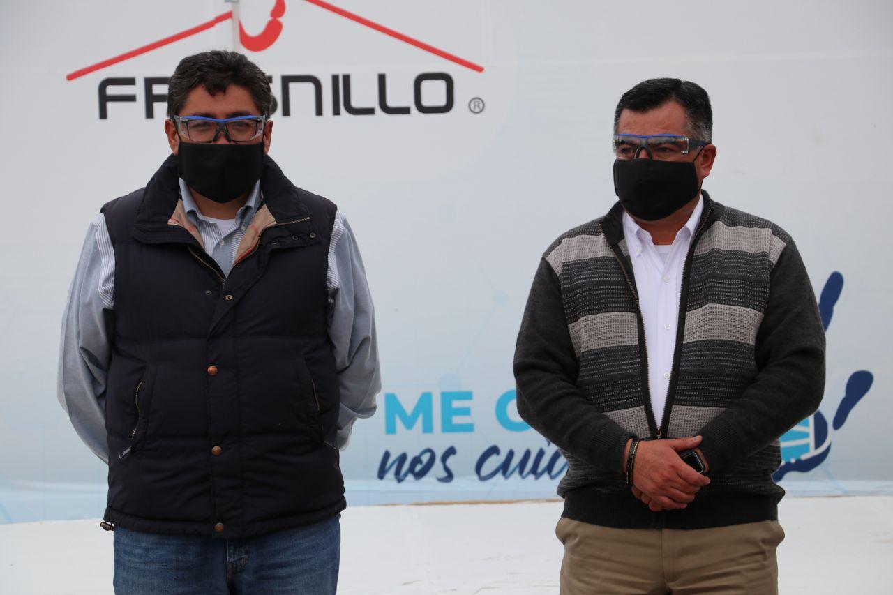 COLABORA EL MUNICIPIO CON MINERA FRESNILLO EN LA CARAVANA DE ENTREGA DE CRUBREBOCAS: CUÍDATE BIEN MUCHO