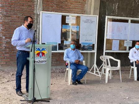 INICIA GOBIERNO ESTATAL CONSTRUCCIÓN DE SUBCOMANDANCIA DE POLICÍA EN JUCHIPILA