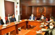 Comparece ante la Comisión legislativa de Vigilancia el secretario de Administración Víctor Rentería López