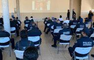 CAPACITA SSP A POLICÍAS EN DETENCIÓN EN FLAGRANCIA