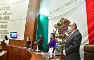 Comparece el secretario de Salud Gilberto Breña Cantú en el Pleno de la LXIII Legislatura