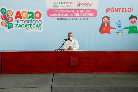 ANUNCIAN AGROALIMENTARIA DIGITAL ZACATECAS 2020
