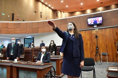 Ratifica legislatura nombramiento de secretaria de la Función Pública