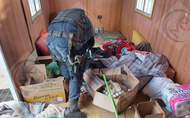 LOCALIZAN Y DESTRUYEN CAMPAMENTO DE LA DELINCUENCIA ORGANIZADA EN VILLA DE COS