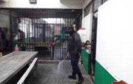 DESINFECTAN CENTROS PENITENCIARIOS DE ZACATECAS