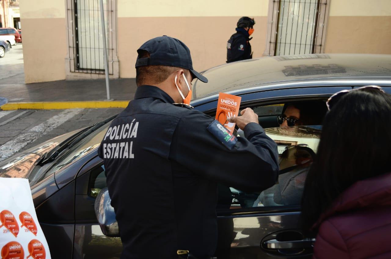 INICIA SSP CAMPAÑA DE PREVENCIÓN, ATENCIÓN, PROTECCIÓN Y PREVENCIÓN DE LA VIOLENCIA CONTRA LA MUJER