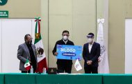 Fresnillo plc entrega al gobierno de Zacatecas 30 mil cubrebocas