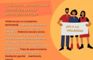 Realiza la CEDHZ Difusión de campaña de prevención de la violencia contra las mujeres