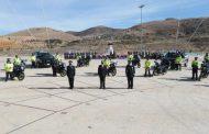 ENTREGA GOBIERNO ESTATAL 22 MOTOS A POLICÍAS VIALES AL CONMEMORAR EL 77 ANIVERSARIO DE LA CORPORACIÓN