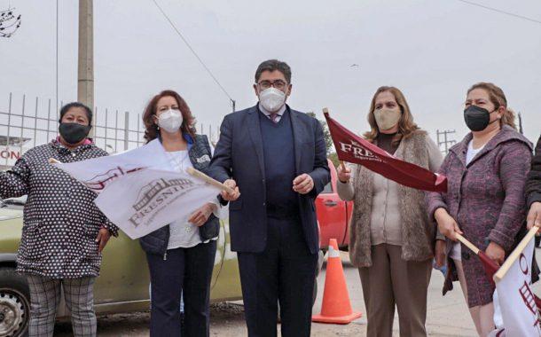 SAÚL MONREAL DA ARRANQUE A DOS IMPORTANTES OBRAS EN LA CABECERA MUNICIPAL