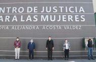 CUMPLE GOBERNADOR A FRESNILLO CON CENTRO DE JUSTICIA PARA LAS MUJERES