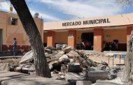 DESPUÉS DE VARIOS AÑOS, SE REHABILITA EL MERCADO MUNICIPAL