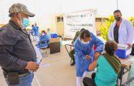 INICIA APLICACIÓN DE SEGUNDA DOSIS DE VACUNA CONTRA COVID-19 A ADULTOS MAYORES EN 11 MUNICIPIOS DEL CAÑÓN DE JUCHIPILA