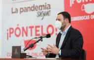 ALERTA GOBERNADOR ALEJANDRO TELLO SOBRE PROBABLE REBROTE DE COVID-19 EN ZACATECAS