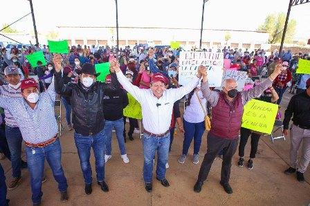 Entrego mi compromiso, honestidad y lealtad al pueblo de Zacatecas; Amor con amor se paga: David Monreal Ávila