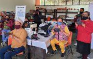 Fresnillo plc apoya taller de corte y confección en comunidad El Obligado