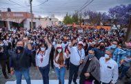 INICIA SAÚL MONREAL CAMPAÑA EN LA COLONIA FRANCISCO GOITIA