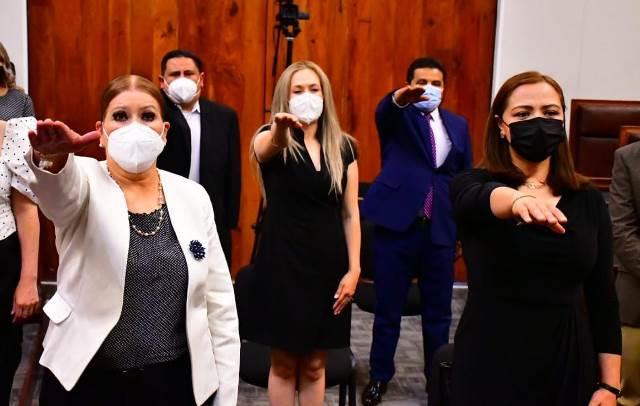 Rinden protesta diputado suplente y cinco consejeros consultivos de Derechos Humanos