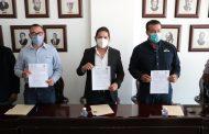 EL AYUNTAMIENTO Y GRUPO MODELO FIRMAN CONVENIO PARA LA DONACIÓN ÁRBOLES
