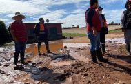 Revisan Daños en Charco Blanco