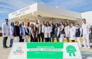 CON DOS NUEVOS HOSPITALES Y CINCO CENTROS DE SALUD, CUMPLE TELLO A LAS Y LOS ZACATECANOS