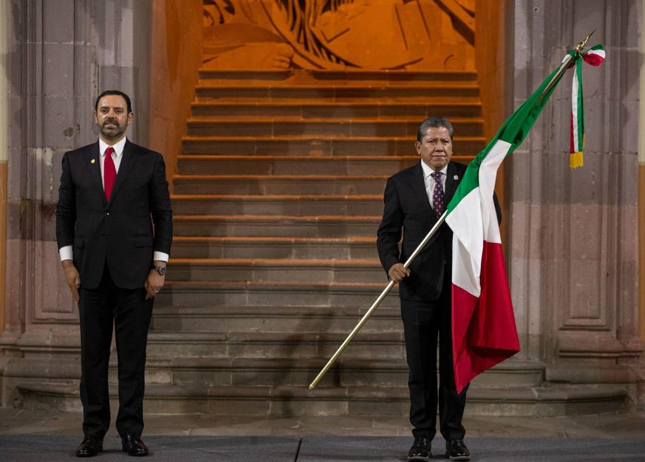 Recibe el Gobernador David Monreal Ávila el Mando de la Fuerza Pública Estatal
