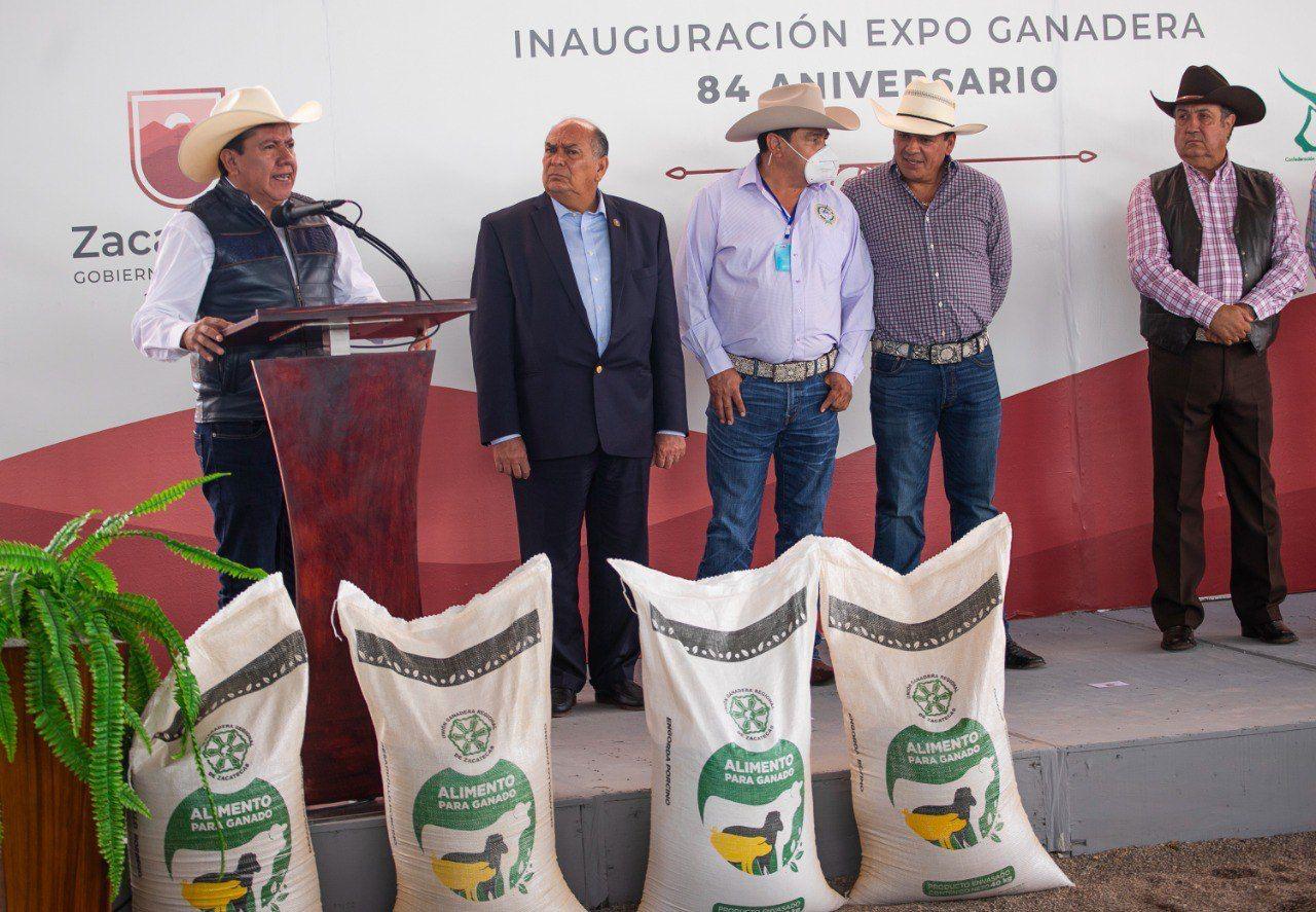 Inicia Gobernador David Monreal rescate del Campo; anuncia Reactivación de Tianguis Ganaderos