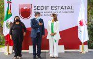 Pide Gobernador David Monreal a personal del SEDIF recobrar la vocación de servicio y su compromiso con la gente