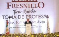Amor con amor se paga y no voy a titubear ni a regatear mi respaldo a Fresnillo: Gobernador David Monreal