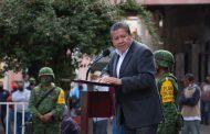 Refrenda Gobernador David Monreal su decisión de trabajar con la Estrategia Nacional De Seguridad