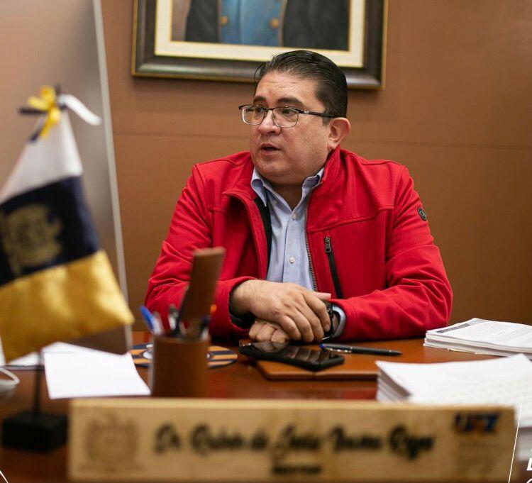Regreso a clases en la UAZ: quién regresa y por qué rector Ibarra Reyes Zacatecas, Zac., 08 de octubre