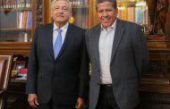Plantea Gobernador David Monreal quebranto financiero al Presidente Andrés Manuel López Obrador