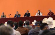 Acuerdan Gobernador David Monreal, campesinos y ganaderos Segunda Feria Agropecuaria